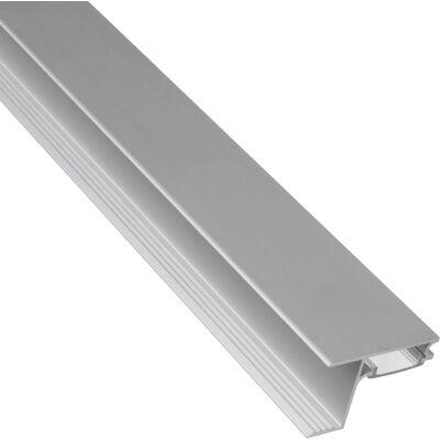 Профиль алюминиевый SKYLINE торцевой накладной с экраном - фото 1