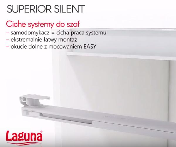 Установка системы LAGUNA SUPERIOR SILENT с доводчиком