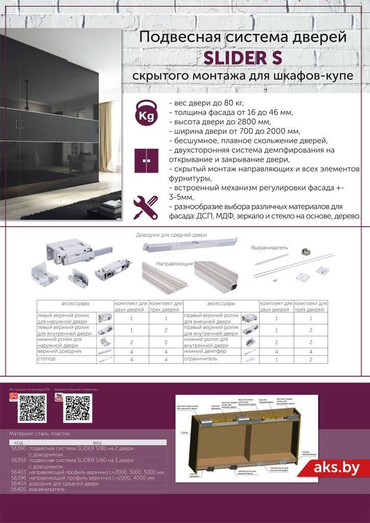Плакат Slider S система