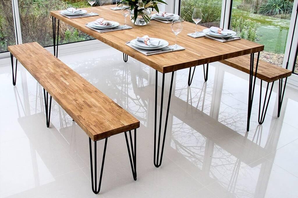 Опоры для мебели и для столов в стиле LOFT - опора FLASH