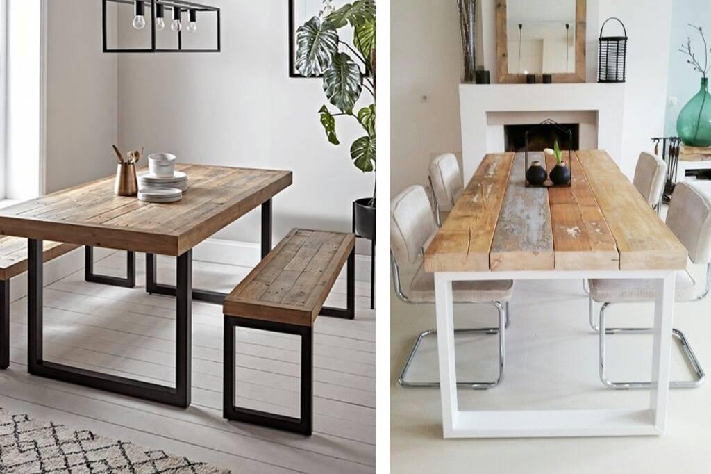 Опоры для мебели и для столов в стиле LOFT - опора TOR