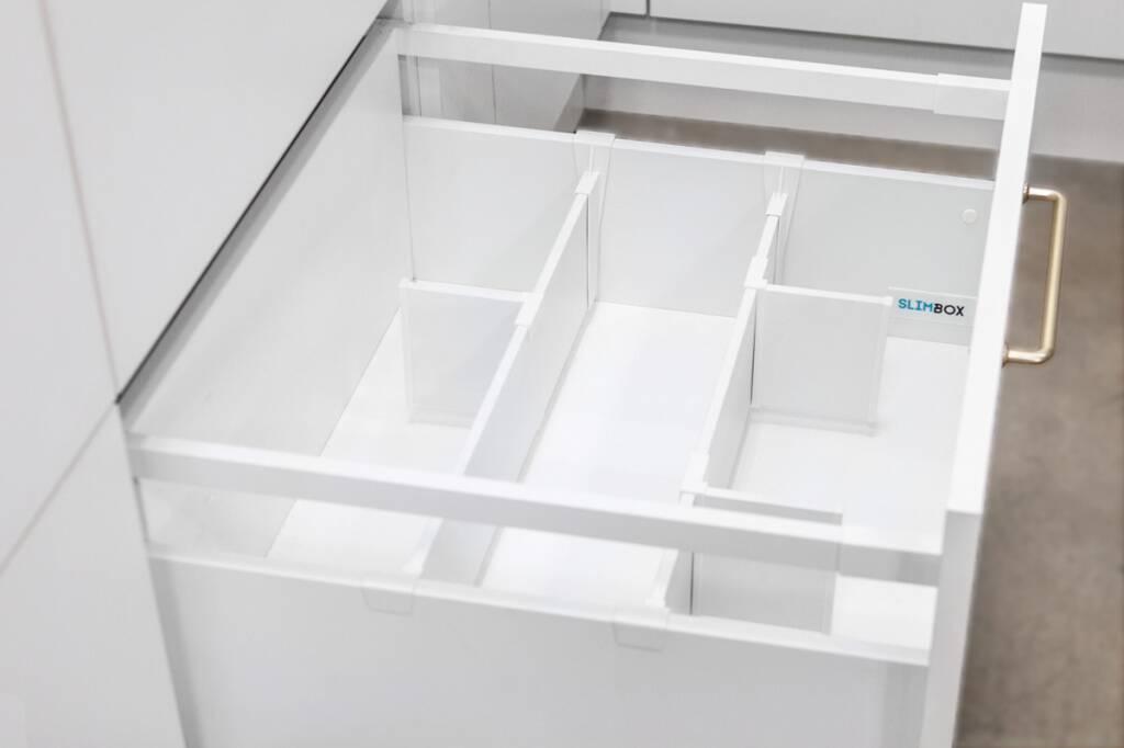 делители и аксессуары для ящиков Slimbox
