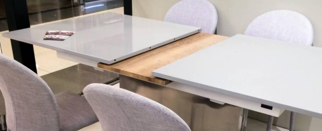 раздвижные столы и механизмы к ним